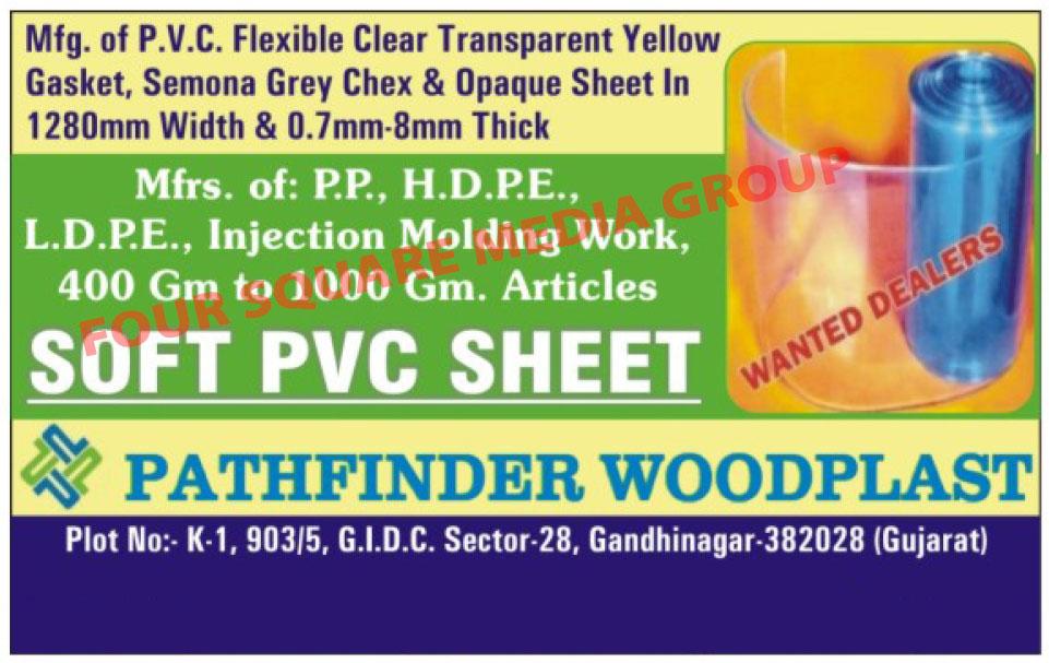 PVC Flexbile Clear Transparent Yellow Gaskets, Soft PVC Sheet, Samona Grey Chex Sheet, Opaqe Sheet,PVC Sheet, Gasket, PVC Gasket, PVC Flexbile Transparent Sheet