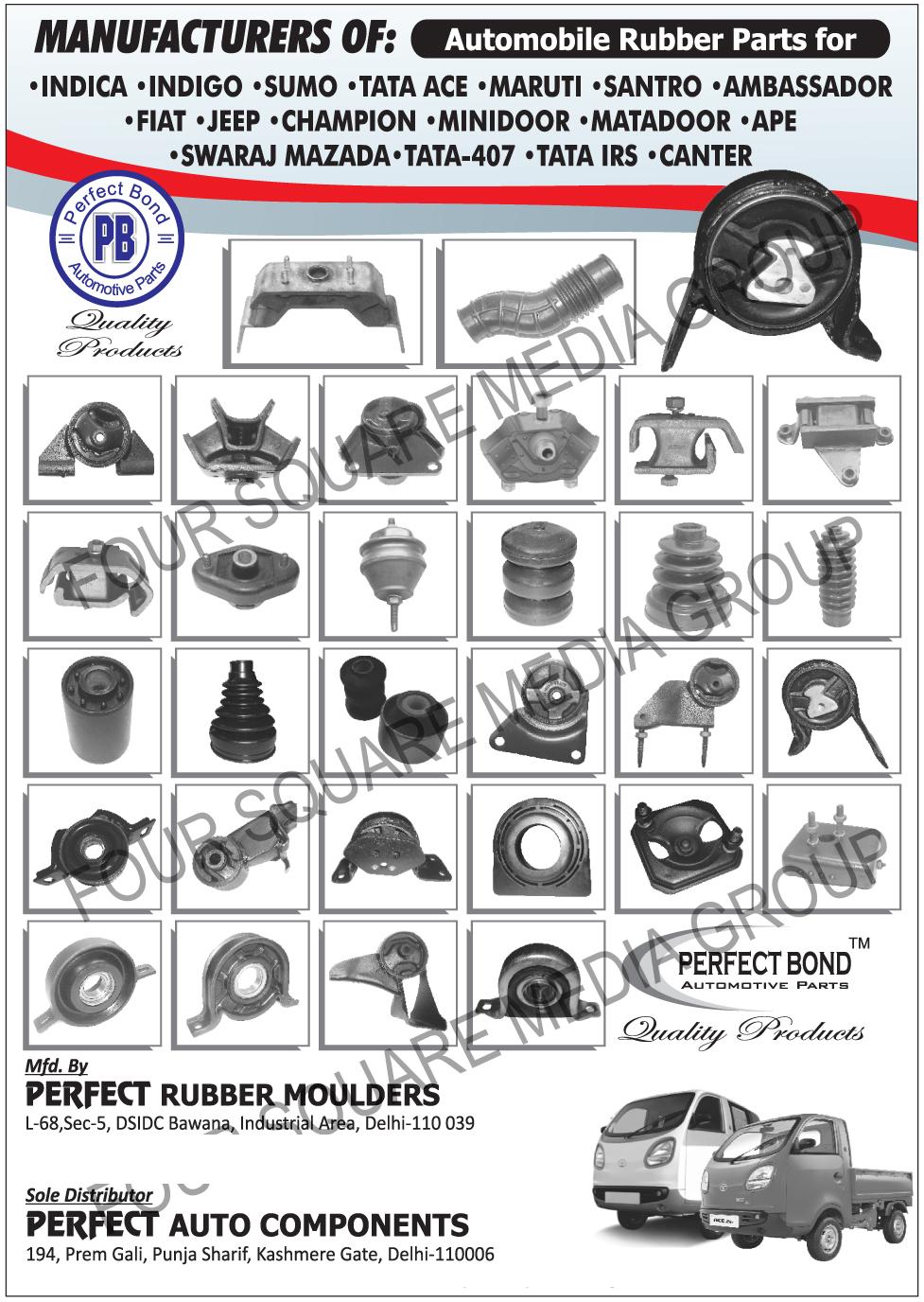 Perfect Rubber Moulders, Delhi, Manufacturer of - Automotive ...