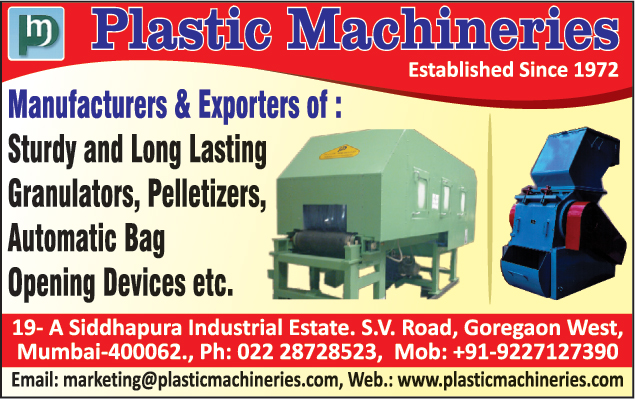 Sturdy Granulator, Long Lasting Granulator, Pelletizers, Bag Opening Devices,Granulators, Shredders, Pelletiser, Dicers, Bag Opening Devices