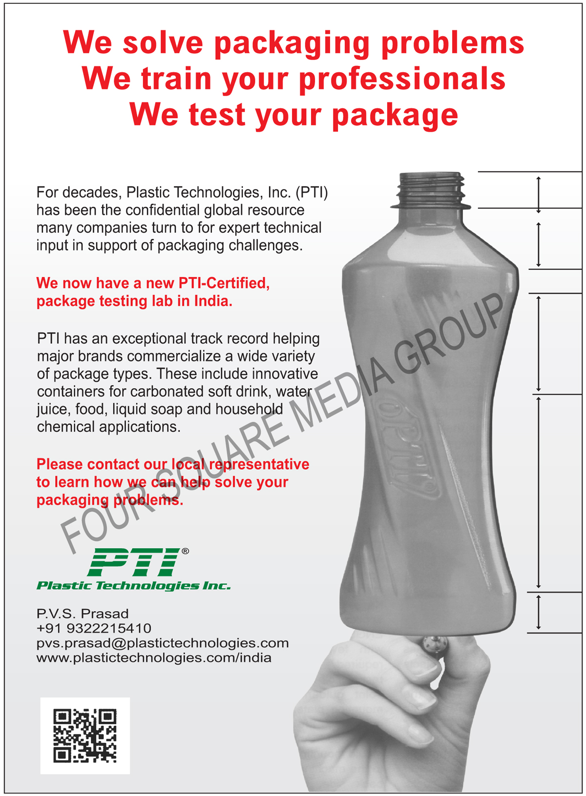 Service Provider of Technical Input in Support of Packaging Challenges