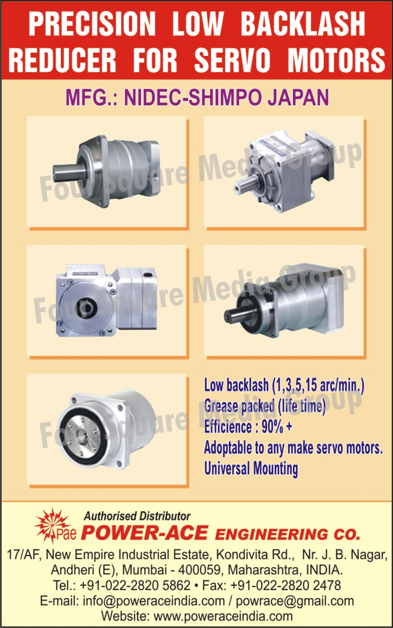 Low Backlash, Packed Grease, Servo Motor, Universal Mounting,Precision Low Backlash Reducer For Servo Motors