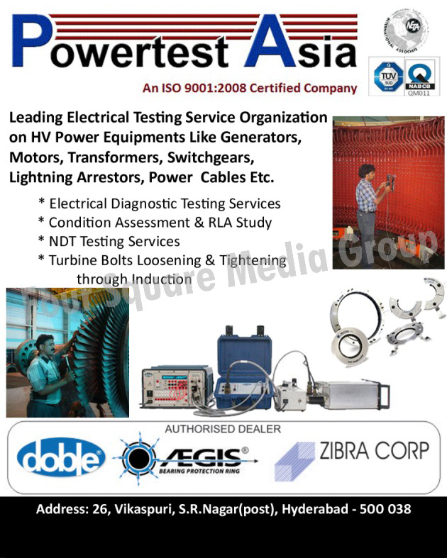 Electrical Testing Service on HV Power Equipments, Electrical Diagnostic Testing Services, NDT Testing Services, Turbine Bolts Loosening Through Induction, Tightening Through Induction