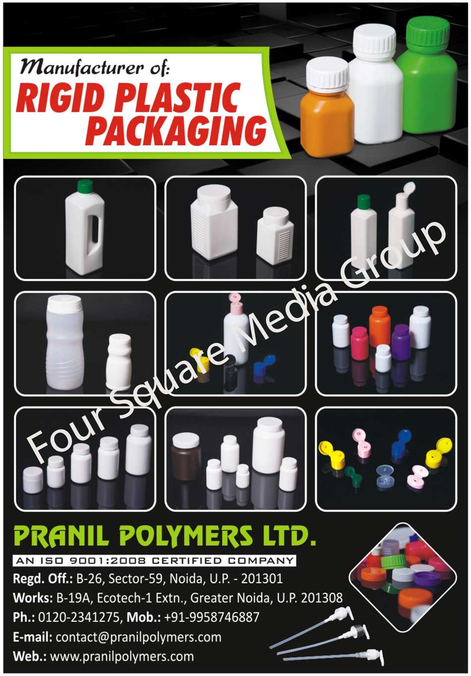 Rigid Plastic Packagings, Household Container, Household Bottle, Consumer Product Container, Consumer Product Bottle, Medicine Container, Medicine Bottle, Pharmaceutical Container, Pharmaceutical Bottle, Cosmetic Product Container, Cosmetic Product Bottle, Consumer Care Product Container, Consumer Care Product Bottle, Food Bottle, Beverage Bottle, Food Container, Beverage Container, Herbal Product Container, Herbal Product Bottle, Motor Oil Container, Lubricant Container, Industrial Product Container, Custom Bottle