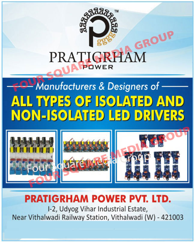 Isolated Led Drivers, Non Isolated Led Drivers, Led Drivers