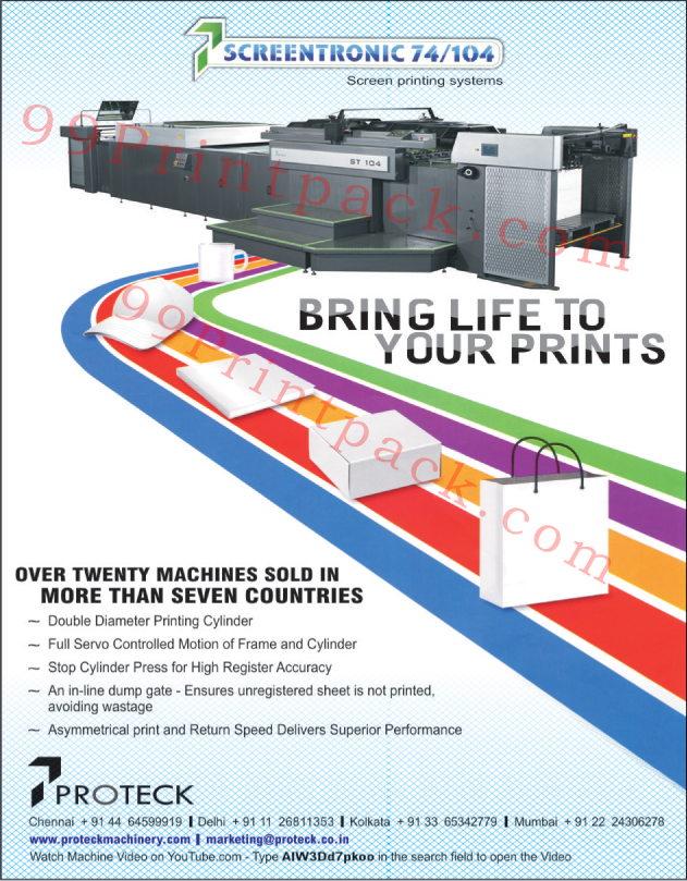 Screen Printing Systems,Printing Machines, Postpress Machines, Press Machines, Paper Finishing Machine, Wire Stitching Machine, Saddle Stitching Machine, Offset Presses, Paper Counting Machine, Books Sewing Machines, Die Cutters, CNC Turning Machine, Metal Forming, Laser Cutting Machine, Press Brakes