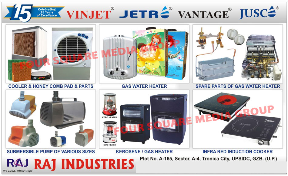 Cooler, Honey Comb Pads, Honey Comb Parts, Gas Water Heaters, Gas Water Heater Spare Parts, Submersible Pumps, Kerosene Heaters, Gas Heaters, Infra Red Induction Cookers