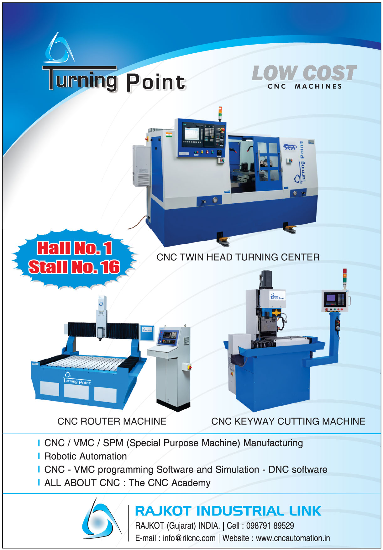 CNC Machines   CNC Twin Head Turning Center Machines   CNC Router