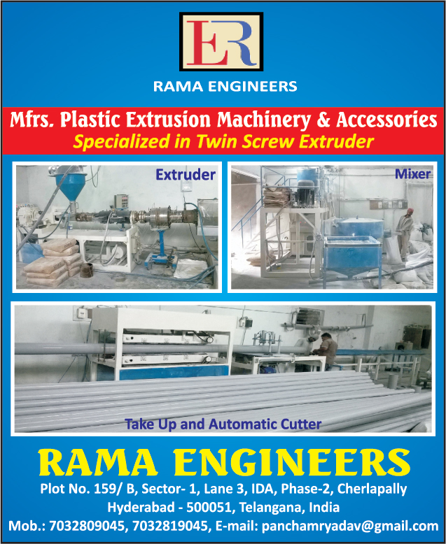 Plastic Extrusion Machines, Plastic Extrusion Machine Accessories, Twin Screw Extruders, Plastic Extrusion Mixers, Take Up and Automatic Cutters,Scrap Mixer Grinder, Vacuum Calibration Tank, Industrial Plastic Extruders, Plastic Processing Machine