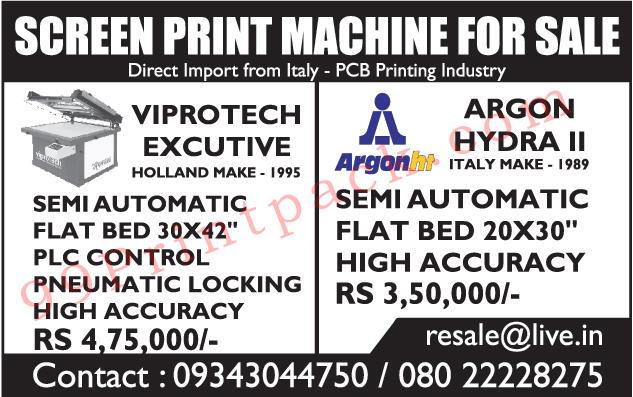 Screen Printing Machine, Printing Machine