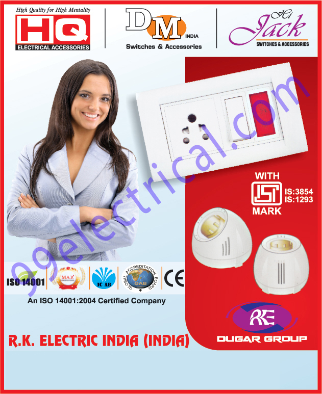 Electrical Accessories | Electrical Switches | Sockets | Switches ...