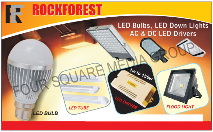 Led Bulbs, Led Down Lights, AC Led Drivers, DC Led Drivers, Led Tubes, Flood Lights