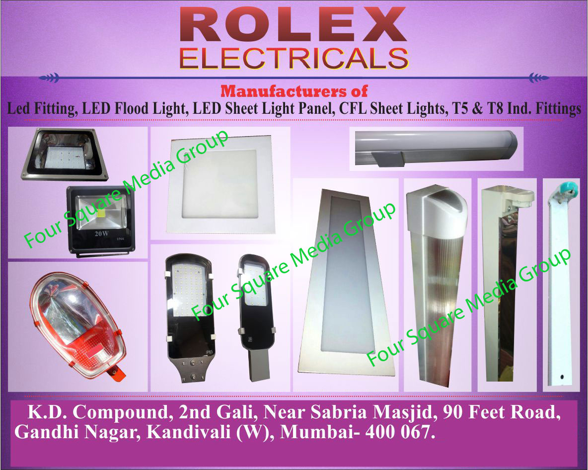 Led Fittings, Led Lights, Led Flood Lights, Led Sheet Light Panels, CFL Sheet Lights, T5 Industrial Fittings, T8 Industrial Fittings