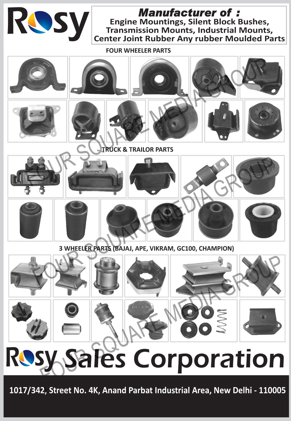 Four Wheeler Parts | 4 Wheeler Parts | Automotive Parts | Three ...
