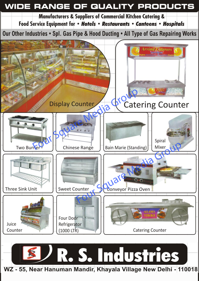 Commercial Kitchen Equipments | Food Service Equipments | Display ...
