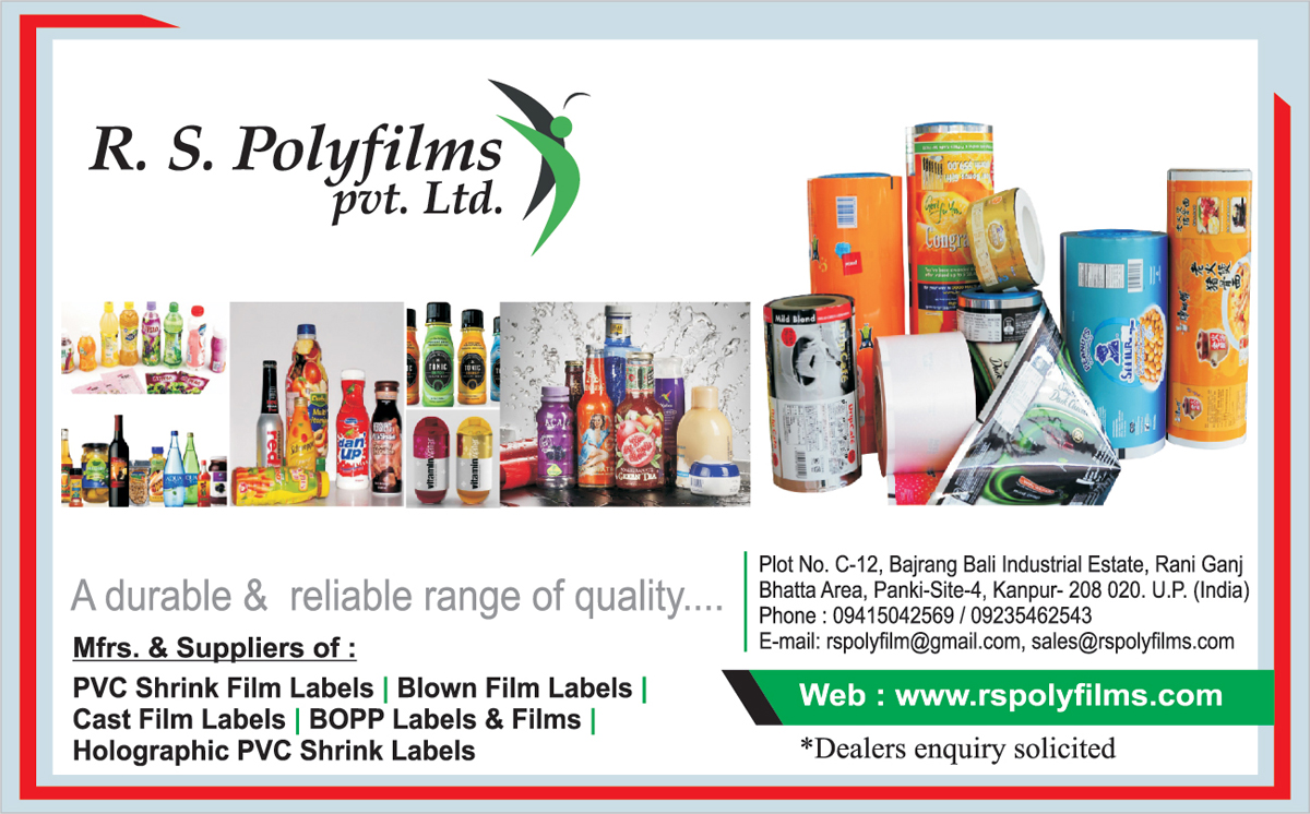 PVC Shrink Film Labels, Blown Film Labels, Cast Film Labels, BOPP Labels, BOPP Films, Holographic PVC Shrink Films