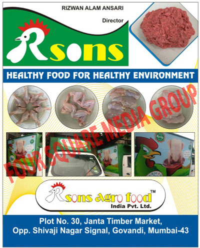 Chicken Foods Rsons Agro Food India Pvt Ltd Manufacturers In Mumbai