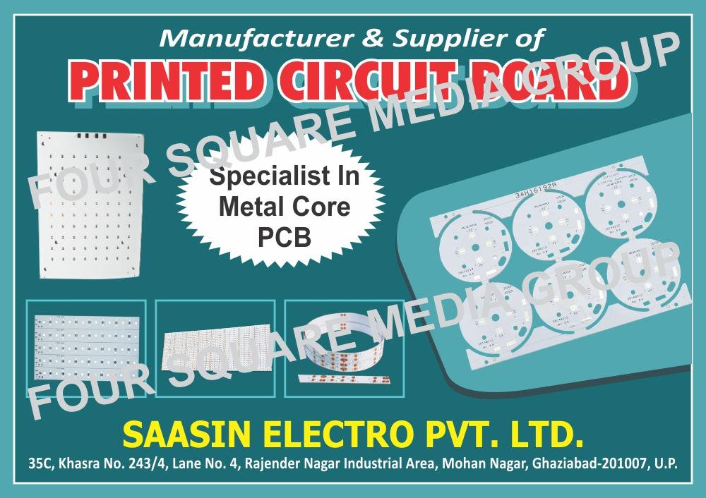 Printed Circuit Board, PCB, Metal Core PCB, Metal Core Printed Circuit Board