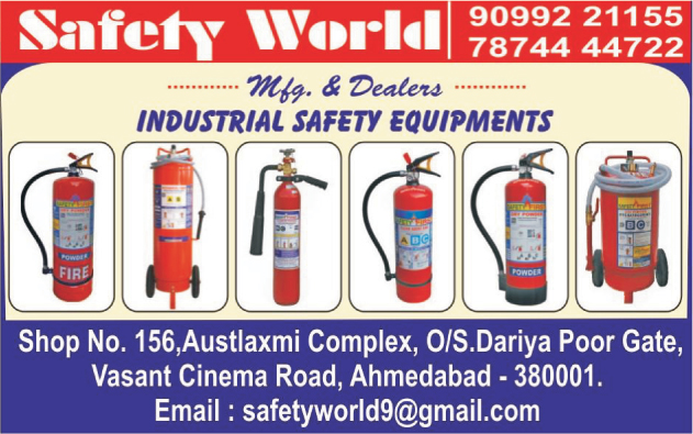 Industrial Safety Equipments, Fire Extinguishers, Fire Safety Products