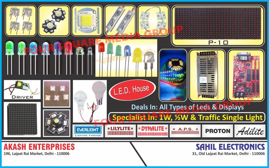 LEDs, LED Displays, Traffic Signal Lights, Led Products, Lights, Traffic Lights