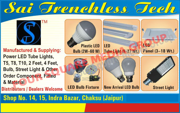 Led Lights, Plastic LED Bulbs, LED Tube Lights, LED Panel Lights, LED Street Lights, Power Led Tube Lights, LED Bulb Fixtures