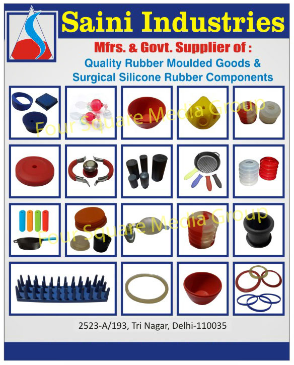 Rubber Moulded Goods, Rubber Molded Goods, Surgical Silicone Rubber Components