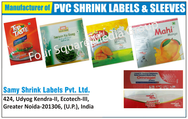 PVC Shrink Labels, PVC Shrink Sleeves,