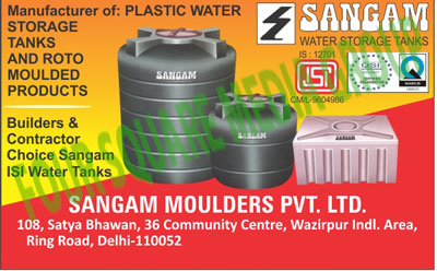 Plastic Water Storage Tanks, Roto Moulded Products, Water Storage Tanks