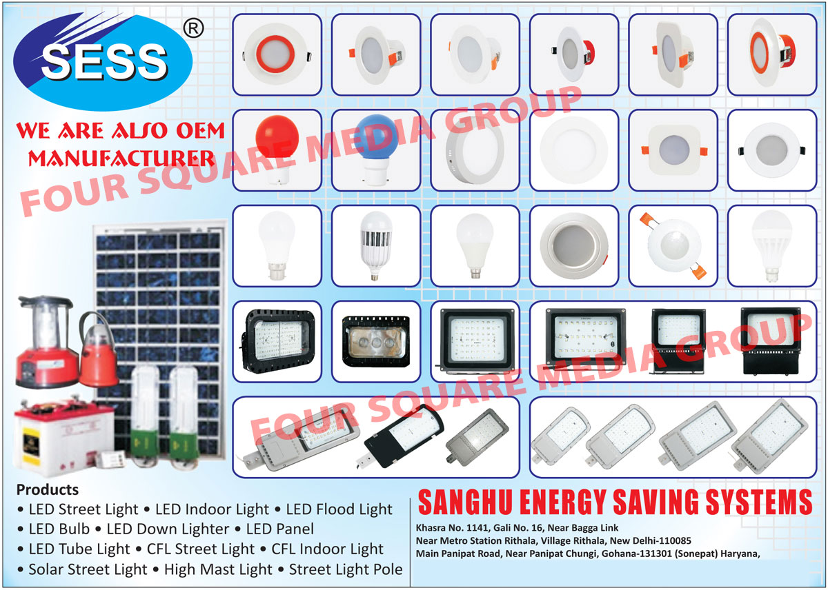 High Mast Lights, LED Street Lights, CFL Street Lights, Led Lights, Solar Home Light Systems, Led Flood Lights, Led Solar Lights, Emergency Lights, CFL, Solar Lights, Solar Led Street Lights, Solar CFL Street Lights, Solar Led, Solar CFL Indoor Lights, Cfl Indoor Lights, Solar Home Light Systems, Led Bulbs, Led Indoor Lights, Led Down Lights, Led Panel Lights,  Led Tube Lights, Street Light Pole, Solar Street Lights