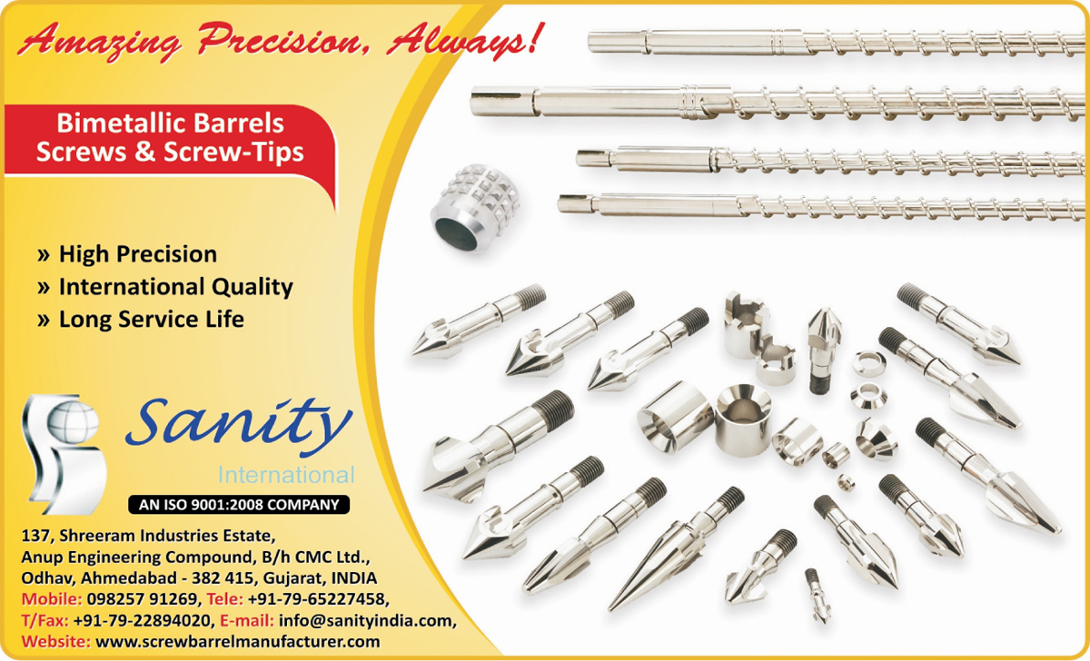 Bimetallic Barrels, Bimetallic Screws, Bimetallic Screw Tip Sets ,Screws, Barrels, Screw Tip Sets