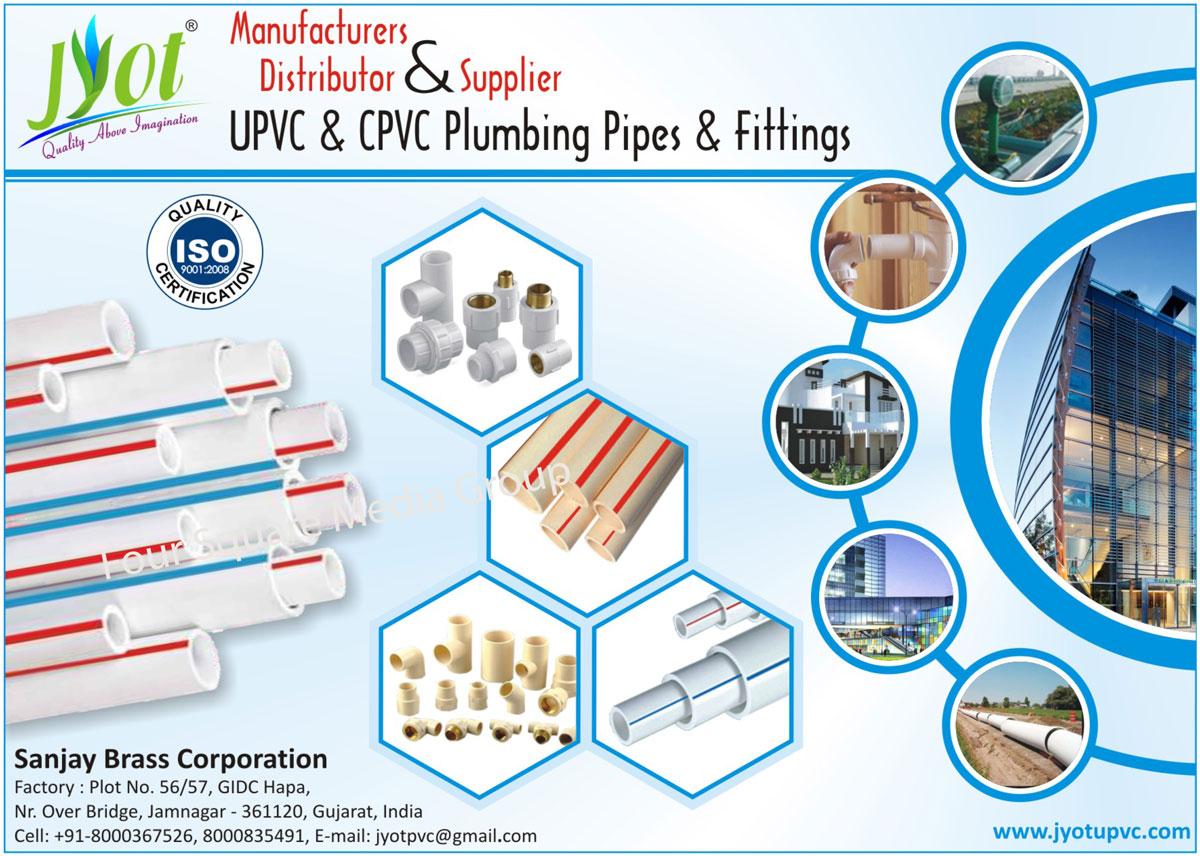 UPVC Plumbing Pipes, UPVC Fittings, CPVC Plumbing Pipes, CPVC Fittings