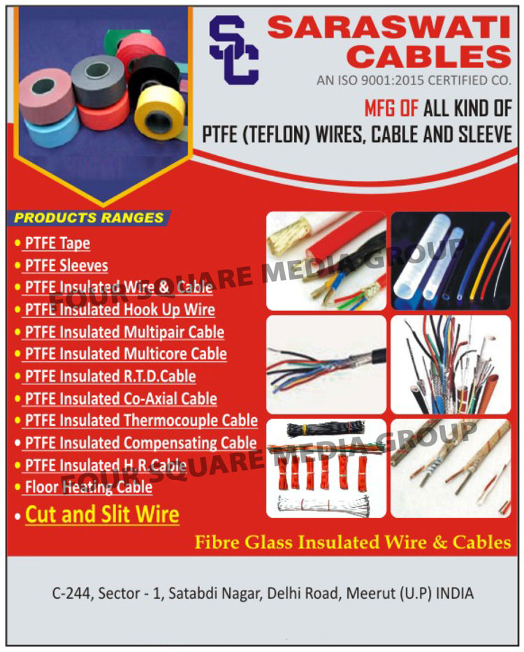 PTFE Wires | PTFE Cables | PTFE Sleeve | PTFE Tape | PTFE Insulated ...