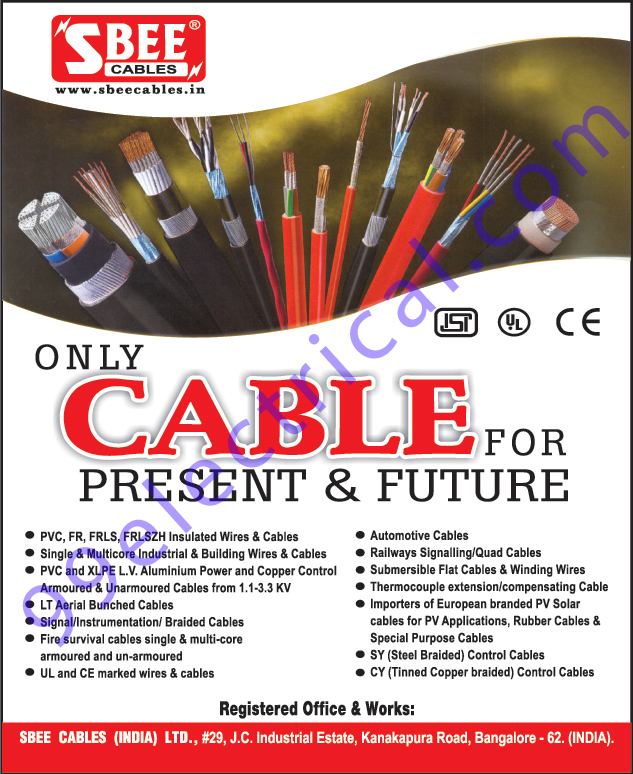 Electrical Items, Cables, Wires, Electrical Wires, Electrical Cables, PVC Wire, PVC Cables, FR Wires, FR Cables, FR LSZH Cables, FR LSZH Wire, Multicore Wire, Multicore Cables, Automotive Cables, Signalling Cables, Quad Cables, Flat Cables, Winding Wires, Control Cables,