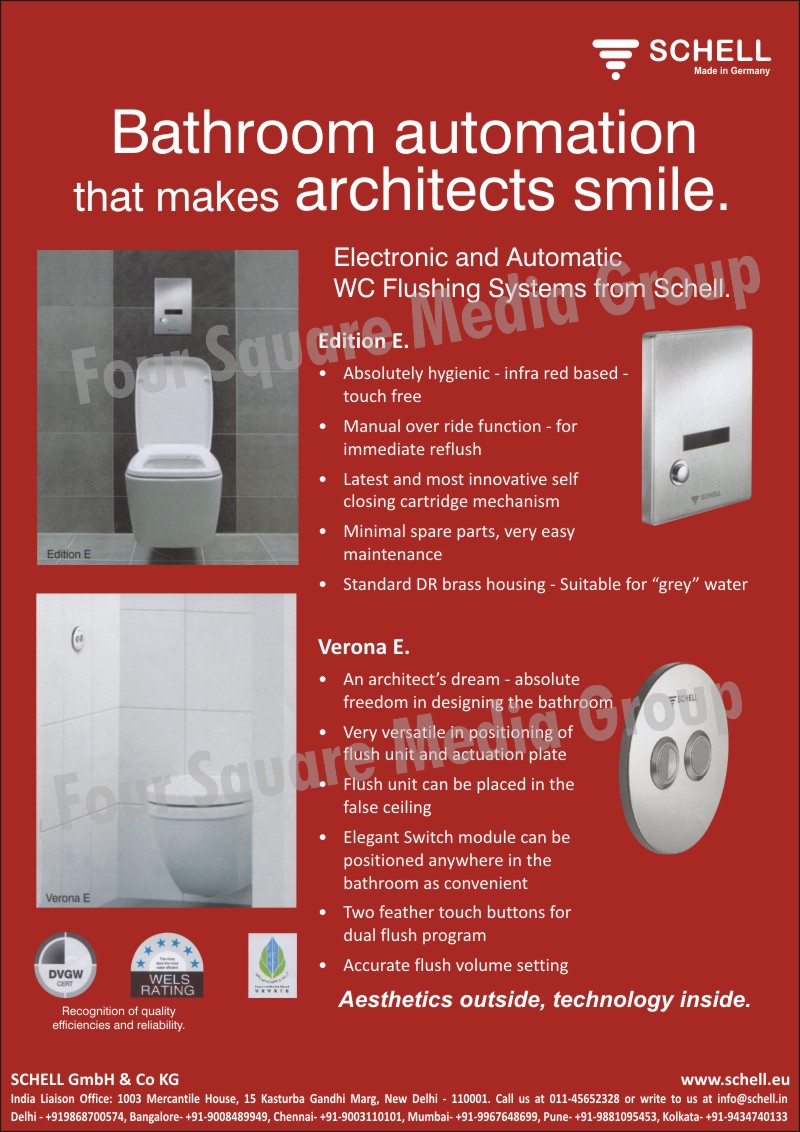 Washbasin, Shower, Wc Flushing Systems, Urinal, Mounting Modules, Appliance Connection Fittings, Angle Regulating Valves, Heating Fittings