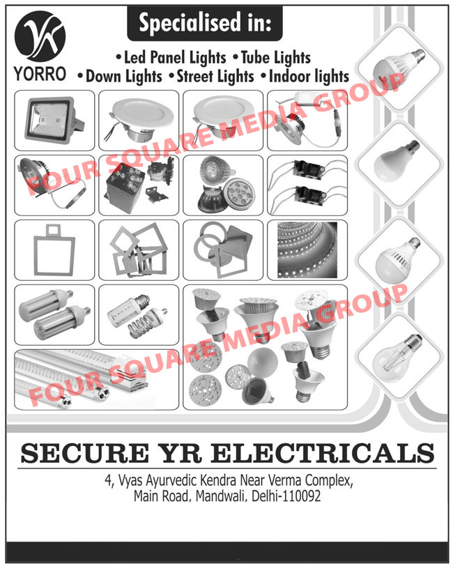 Led Lights, Led Panel Lights, Led Tube Lights, Led Down Lights, Led Street Lights, Led Indoor Lights