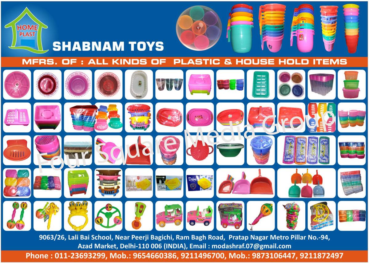 Plastic House Hold Items, Plastic Items, Plastic House Hold Products, Plastic Products, Plastic Toys