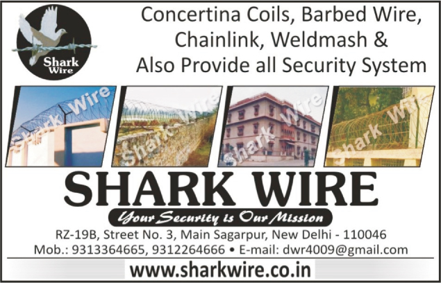 Concertina Coils, Barbed Wire, Chainlink, Weldmash, Security Systems, Chain Links