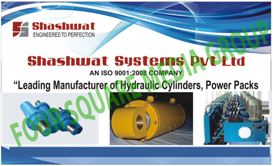 Hydraulic Cylinders, Power Packs, Force Feed Lubrication Systems, Force Feed Lubricators, Hydraulic Jacks, Reciprocating Pumps