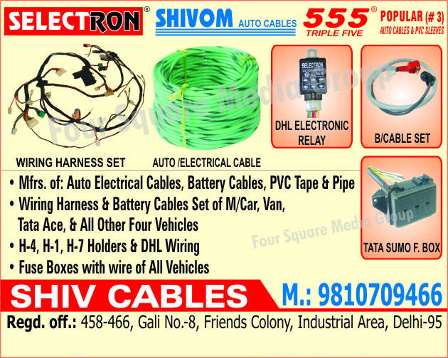 Automotive Cables | Battery Cables | Electrical Wires ... on