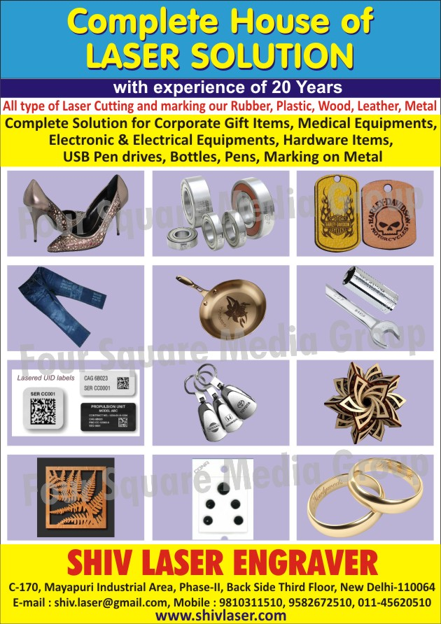 Laser Cutting Services, Laser Marking Services, Corporate Gift Item Laser Marking Services, Medical Equipment Laser Marking Services, Electronic Equipment Laser Marking Services, Electrical Equipment Laser Marking Services, Hardware Item Laser Marking Services, USB Pen Drive Laser Marking Services, Bottle Laser Marking Services, Pen Laser Marking Services, Laser Marking Service on Metal