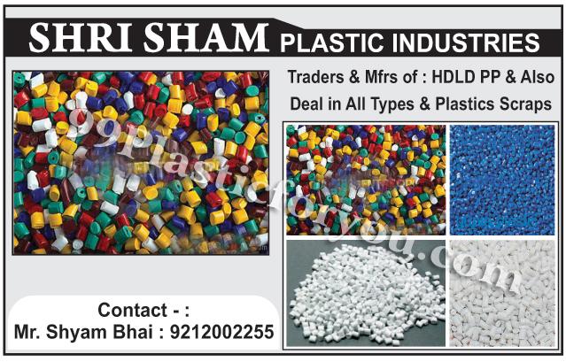 HDLD Scraps, PP Scraps, Plastic Scraps, Plastic Wastes, PP Wastes, HDLD Wastes