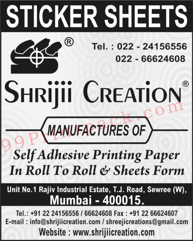 Self Adhesive Printing Paper Rolls, Self Adhesive Printing Paper Sheet Form,Rolls, Sheets, Self Adhesive Printing Paper, Sticker Sheets, Printing Labels, Promotional Labels, Graphics Stickers, Packaging Boxes, Boddy Tattoos, School Charts, Printing Products, Cuztomized Books, Business Leaflets, Show Posters