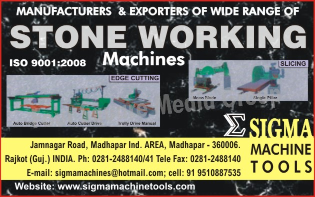 Auto Bridge Cutter, Auto Cutter Drive, Stone Edge Cutting Machines, Stone Working Machines, Stone Slicing Machines