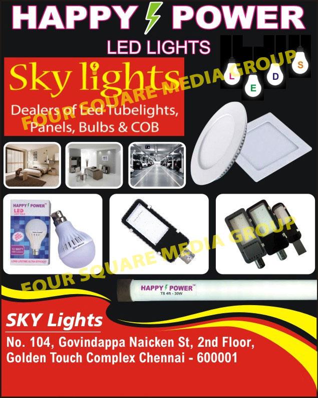 Led Lights, Led Tube Lights, Led Panels, Led Bulbs, COB Lights