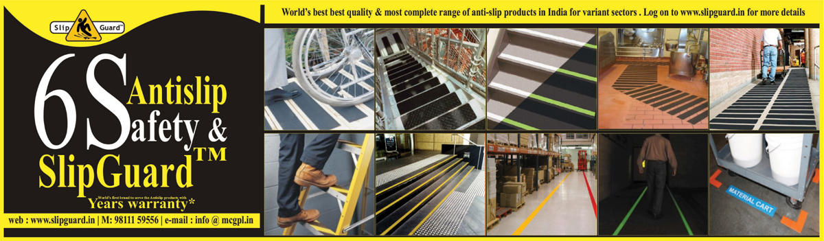 Anti Slip Floor Treatments, Anti Slip Safety Tapes, Anti Slip Nosings, Anti Slip Industrial Products