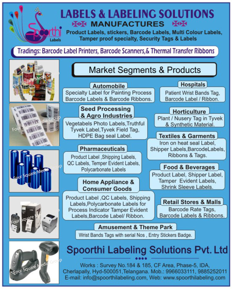 Labels, Labeling Solutions, Barcode Labels, Multi Colour Labels, Multi Color Labels, Temper Proof Labels, Security Labels, Barcode Label Printers, Barcode Scanners, Thermal Transfer Ribbons, Product Labels, Stickers