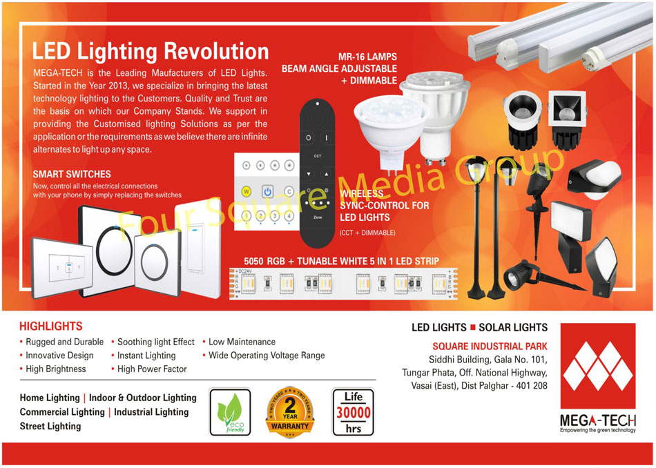 Led Lights, Solar Lights, Home Lights, Indoor Lights, Outdoor Lights, Commercial Lights, Industrial Lights, Street Lights