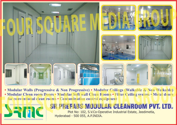 Modular Walls, Modular Ceilings, Modular Clean Room Doors, Modular Soft Wall Clean Rooms, Filter Ceiling Systems, Conventional Clean Metal Doors, Contamination Control Equipments, Clean Room Doors, Control Equipment, Metal Doors for Conventional Clean Rooms