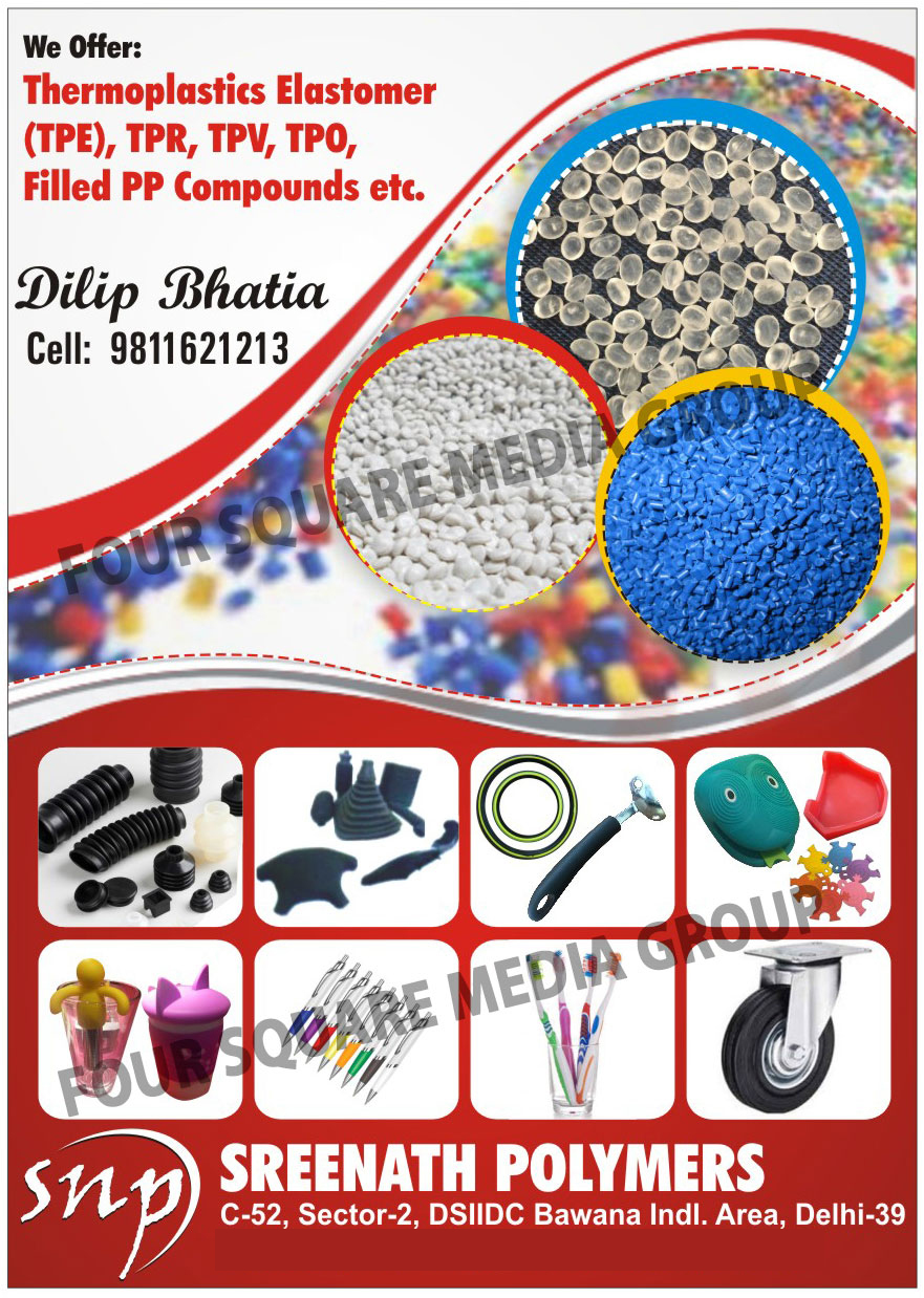 Poly Carbonates, Acetate, TPE, TPR, ABS, PBT, PP, Plastic Wastes, Plastic Scraps,Thermo Plastic, Butate, Plastic Machinery, Plastic Dana, Recycled Plastic, Thermoplastic Elastomers, TPV Compounds, TPO Compounds, Filled PP Compounds, TPE Compounds, TPR Compounds