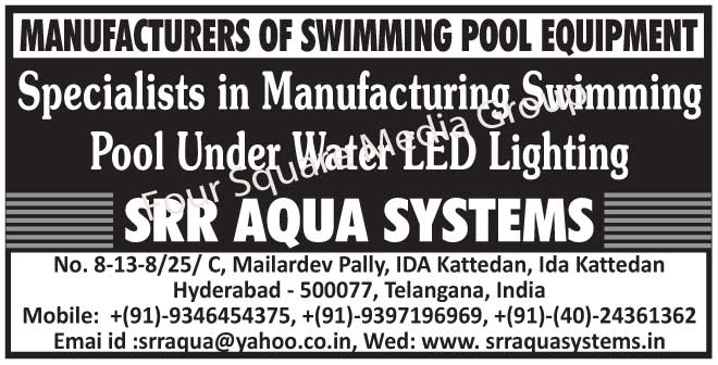 Swimming Pool Equipments, Swimming Pool Under Water Led Lights