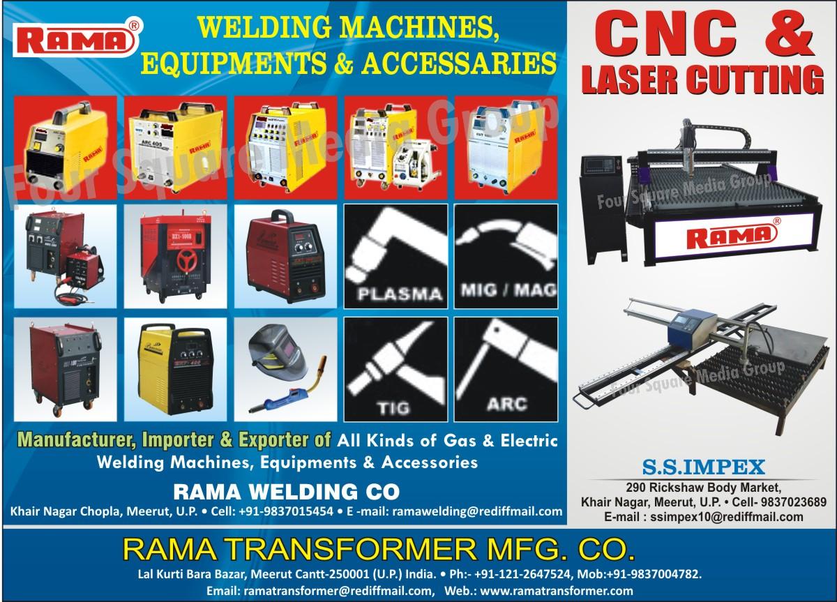 CNC Cutting Machines, Laser Cutting Machines